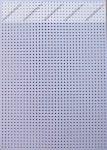 Hímzőkarton, 17,5x24,5 cm, fehér (1 db)- Folia