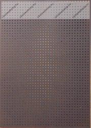 Hímzőkarton, 17,5x24,5 cm, fekete (1 db)- Folia