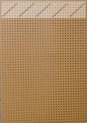 Hímzőkarton, 17,5x24,5 cm, narancssárga (1 db)- Folia