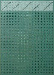Hímzőkarton, 17,5x24,5 cm, sötétzöld (1 db)- Folia