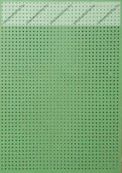 Hímzőkarton, 17,5x24,5 cm, világoszöld (1 db)- Folia