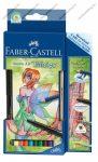 Faber-Castell Anime Art művész akvarell színesceruza készlet, 11 részes