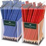 Faber-Castell GRIP 2001 B grafitceruza, piros (1 db)