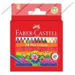 Faber-Castell zsírkréta készlet/Viaszkréta, 24 db-os