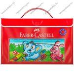 Faber-Castell olajpasztell kréta díszdobozban, 18 db + kréta fogó