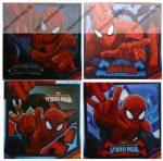 Törölköző, Pókember/Spider-Man kormány varázstörölköző, 30x30 cm