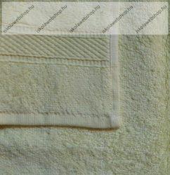 Frottír törölköző, Halványsárga, 30x50 cm