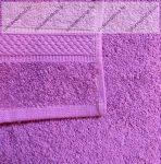Frottír törölköző, Pink- sötét, 30x50 cm