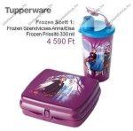 Tupperware Frozen uzsonnás + kulacs szett