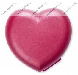 Tupperware uzsonnás doboz, Szív piros