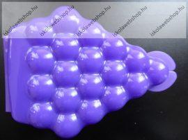 Tupperware uzsonnás doboz, Szőlő alakú - Sötét lila (16x11,5x5 cm)