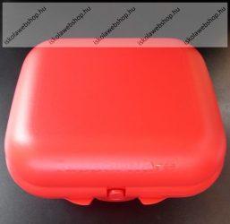 Tupperware uzsonnás doboz, Nagy, Piros (14x11x6 cm)