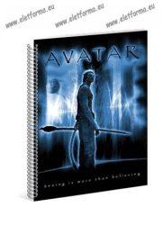 A5 Négyzethálós/Kockás spirálfüzet - Avatar, Ars Una