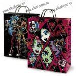 Nagy díszzacskó, Monster High fekete