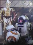 Notesz A7 papírfedeles, Star Wars - 3 Robot