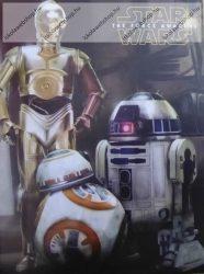 Papírfedeles notesz, Star Wars - 3 Robot (A7)