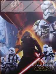 Papírfedeles notesz, Star Wars - Red (A7)