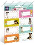 Pets füzetcímke (8 db/lap)
