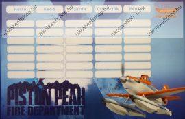 Planes/Repcsik blue kétoldalas órarend