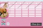 Lovas/Pony Love kétoldalas órarend