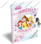 A6 Hercegnős/Princesses emlékkönyv lakattal (kulcsos)