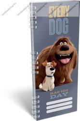 Spirál szótárfüzet, A kis kedvencek titkos élete/The Secret Lifeof Pets