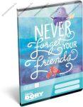Finding Dory/Szenilla nyomában Never forget Your Friend felsős vonalas füzet A5