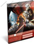 Star Wars Force felsős vonalas füzet A5