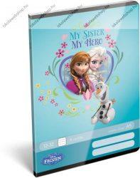 Frozen/Jégvarázs My Sister my Hero 3. osztályos vonalas füzet