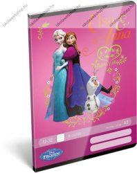 Frozen/Jégvarázs Elsa 3. osztályos vonalas füzet