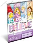 Hercegnős/Princess Believe 1. osztályos vonalas füzet, A5/14-32