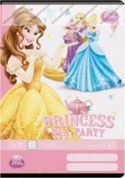 Hercegnős/Princess Tea Party 3. osztályos vonalas füzet