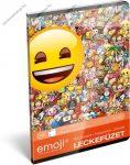 Lecke és Üzenőfüzet, A5, Emoji/Smiley