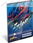 Spider Man ZZipp sima füzet, A5