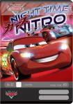 Cars/Verdák Nitro 1. osztályos vonalas füzet, A5/14-32