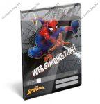 Spider Man/Pókember Web 2. osztályos vonalas füzet, A5/16-32