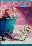 Frozen 3. osztályos vonalas füzet (vegyes minta), A5/12-32