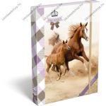 Horses/Lovas füzetbox, A/4