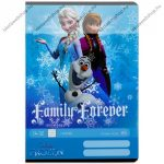 Frozen/Jégvarázs - Family forever vonalas füzet, A5/21-32