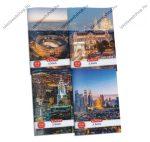 City 2021 kockás füzet, A5/27-32 (1 db)